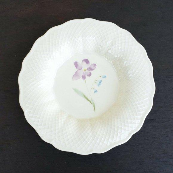 Vintage NIB Mikasa Ivory Bone China Plate